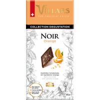 Швейцарский тёмный шоколад Villars с цукатами из апельсиновых корочек