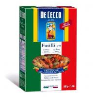 De Cecco № 34 Фузилли триколор (De Cecco № 34 Fusilli tricolore)