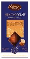 """Молочный шоколад Cemoi с кусочками пряного хрустящего печенья """"Спекулос"""""""