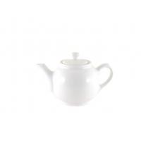 Чайник 600 мл белый