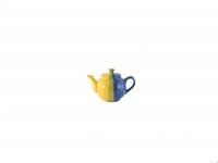 Чайник 600 мл жёлто-синий