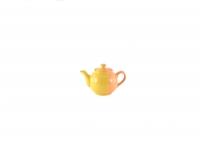 Чайник 600 мл жёлто-оранжевый
