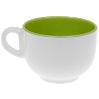 Бульоница 300 мл двухцветная зелёная