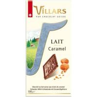 Швейцарский молочный шоколад Villars с кусочками карамели