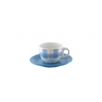 Чайная пара 170 мл декор синий