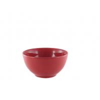 Салатник 13 см красный