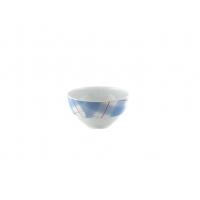 Салатник 13 см декор синий