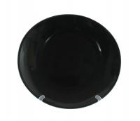 Блюдо круглое 28 см чёрное