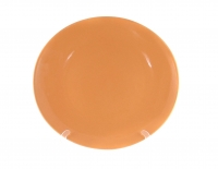 Блюдо круглое 28 см оранжевое