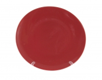 Блюдо круглое 28 см красное