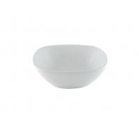 Салатник квадратный 13 см белый