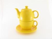 Чайный дуэт 2 предмета желтый