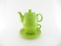 Чайный дуэт 2 предмета зеленый