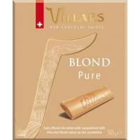 Швейцарский белый шоколад Villars с сухим карамелизованным молоком