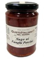 Соус с томатом и белыми грибами 300 гр (Sugo ai Funghi Porcini)