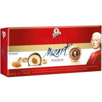 Конфеты Halloren Mozart Kugeln с марципаном