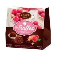 Трюфели Cemoi «Креатив» с кусочками малины и печенья