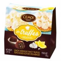 Трюфели Cemoi «Креатив» с безе и кусочками лимонной цедры