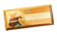 Тёмный шоколад Böhme с апельсиновой начинкой 62 %