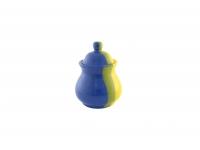 Сахарница жёлто-синяя