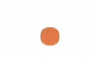 Тарелка подстановочная квадратная 26 см оранжевая
