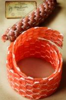 Фиброузная оболочка сотовая 65 мм, 2м