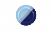 Тарелка подстановочная 23 см сине-голубая