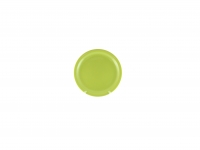 Тарелка подстановочная 23 см зелёная