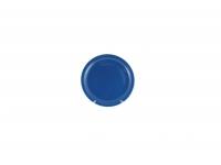 Тарелка подстановочная 23 см синяя