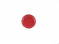 Тарелка подстановочная 23 см красная