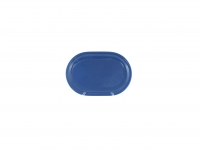 Блюдо овальное 30 см синее
