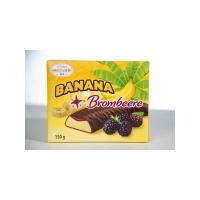 Банановое суфле Hauswirth с ежевичным джемом в темном шоколаде