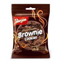 Bergen шоколадное печенье с кусочками шоколада «Брауни»