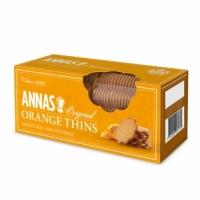 Тонкое печенье Anna's с апельсином Orange Thins