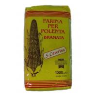Мука кукурузная Брамата (Semola di mais Bramata)
