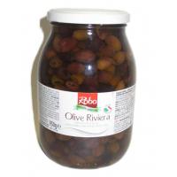 Маслины РИВИЕРА без косточки в оливковом масле 39% (Olive RIVIERA denocc. in olio E/V 39%)