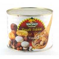 Смесь 5 видов грибов «Лесная» в масле (Funghi porcini Misto bosco funghi trifolati (5 tipi)