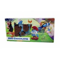 Фигурки из молочного шоколада «Смурфики»