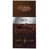 Горький шоколад Cemoi 90% какао